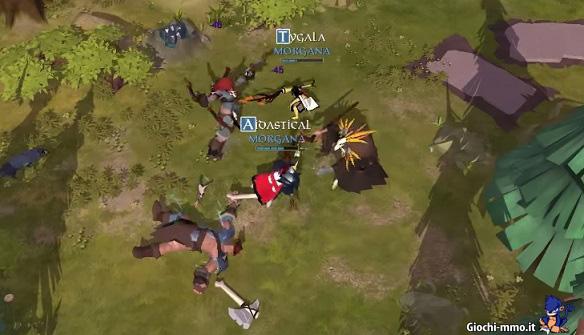 Combattimento Albion Online
