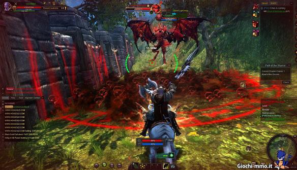 Combattimento Black Gold Online