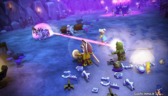 Combattimento Lego Minifigures Online