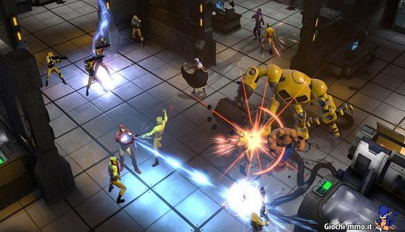 Combattimento Marvel Heroes