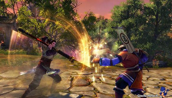 Combattimento Swordsman Online