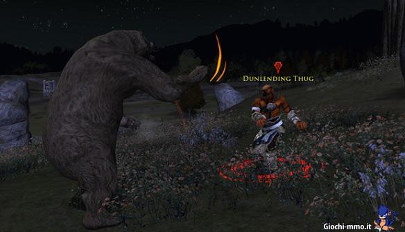 Combattimento con l'orso LOTRO