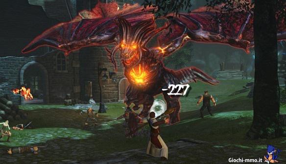Combattimento contro il drago