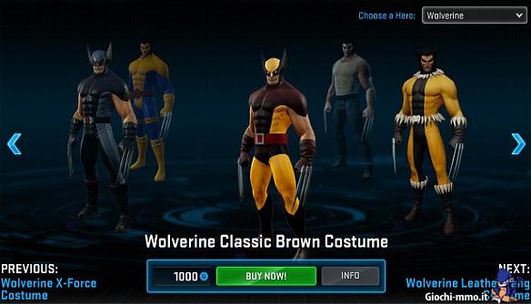 Costumi Marvel Heroes
