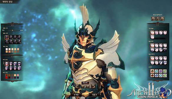 Creazione personaggio Archlord 2