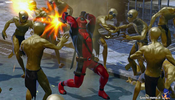 Deadpool Marvel Heroes