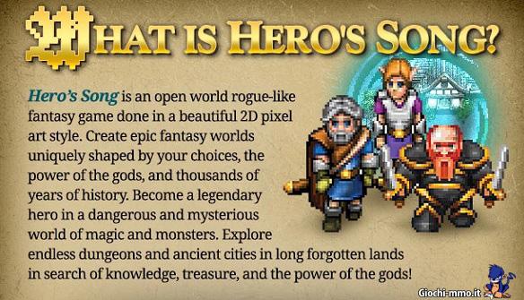 Descrizione Hero's song