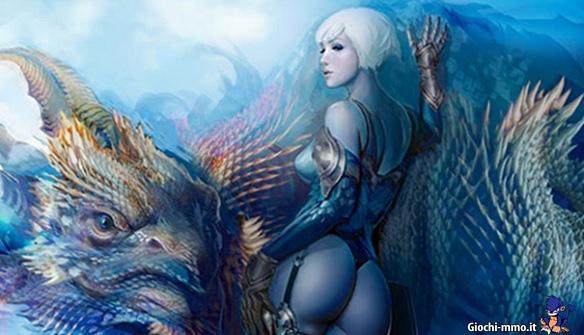 Donna e drago in Dragon's Prophet