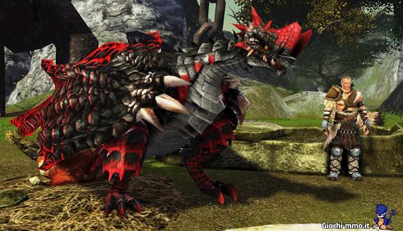 Drago rosso dragon's prophet