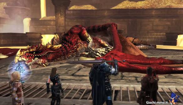 Drago sconfitto Rise of Tiamat