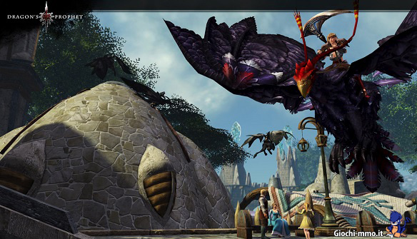 Drago volante Dragon's Prophet