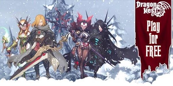 Dragon Nest: aggiornamento natalizio!