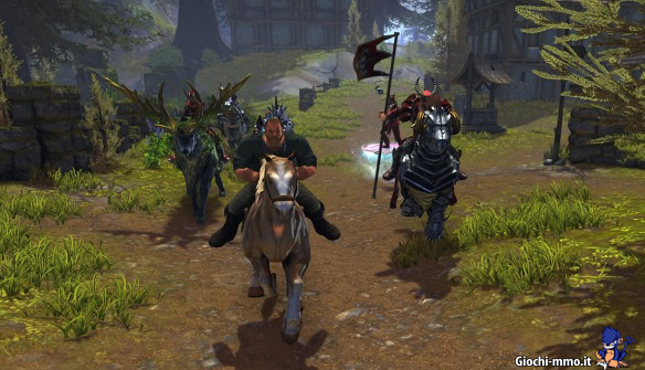 Eroi a cavallo Neverwinter
