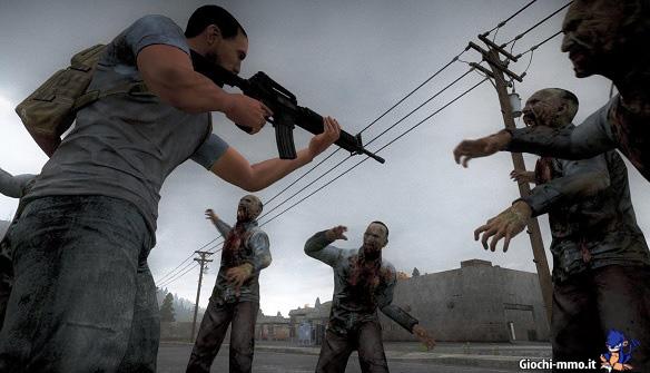 Fucile e zombie H1Z1