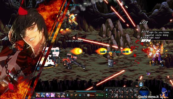 Gameplay Dungeon Fighter Online