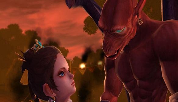 Ghosts ?n Goblins Online rimane fedele alla trama originale. La
