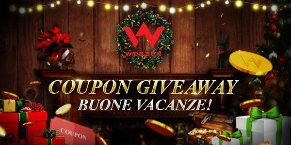"""Webzen: """"HAPPY HOLIDAYS"""" giveaway"""