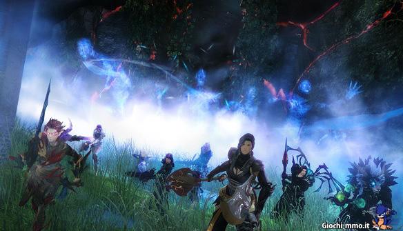 Gruppo giocatori raid Guild Wars 2