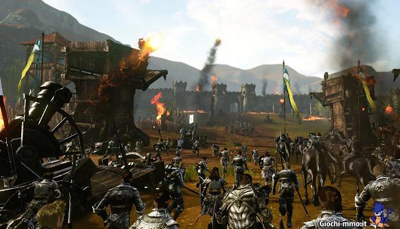 Guerra assedio ArcheAge