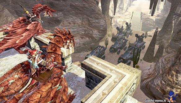 Guerra assedio Dragon's Prophet