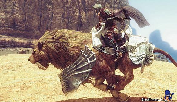 Leone cavalcatura Archlord 2