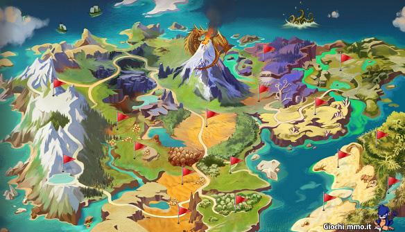 Mappa Dragomon Hunter