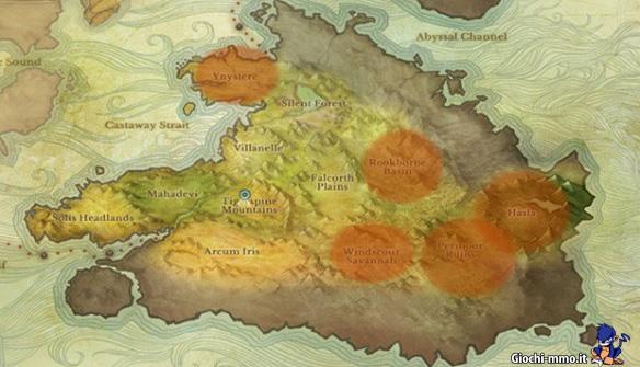 Mappa PvP ArcheAge