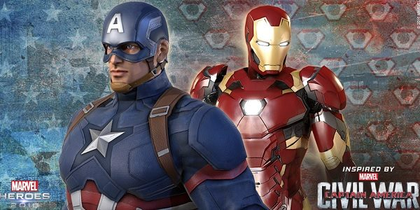 Marvel Heroes: aggiornamento Capitan America Civil War