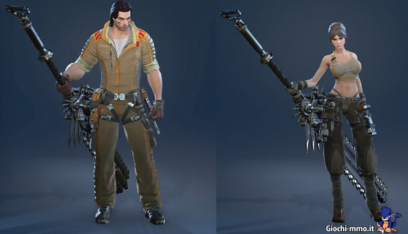 Mechanical Costume Skyforge