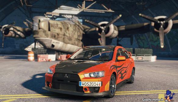 Mitsubishi World of Speed