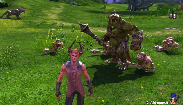 Mob creature TERA