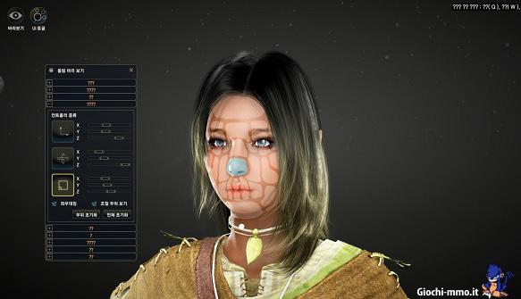 Modificare il volto in Black Desert Online