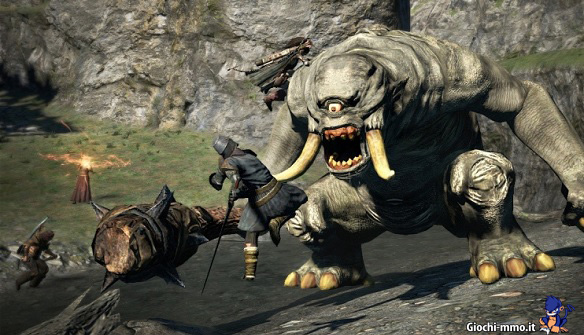 Mostro e guerrieri dragons dogma