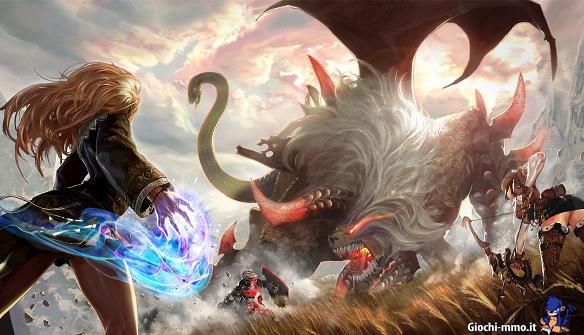 Mostro gigante raiderz