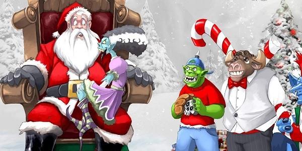 Giochi MMORPG per le vacanze di Natale!