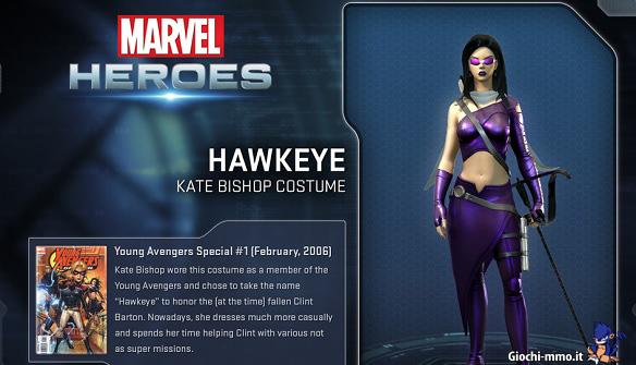 Occhio di Falco Marvel Heroes