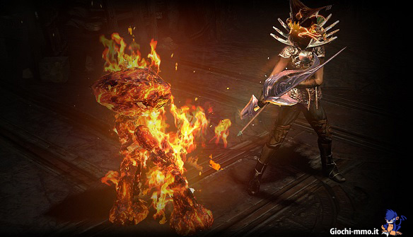Path of Exile Flame Golem