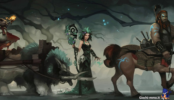 Personaggi Crowfall