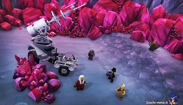 Personaggi Lego Minifigures Online