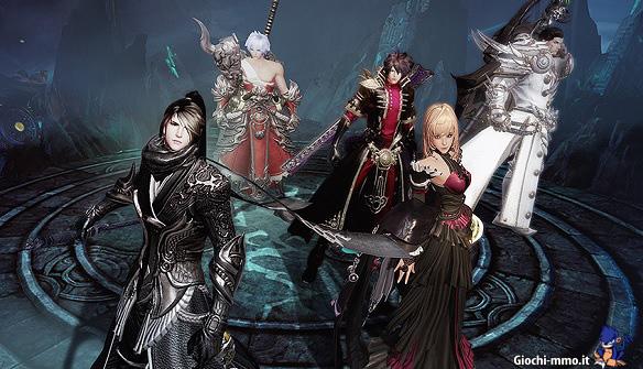 Personaggi Revelation Online
