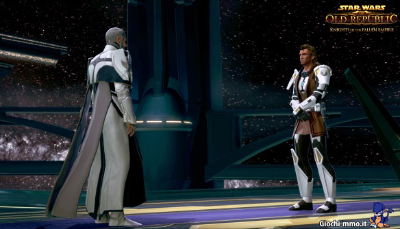 Personaggi SWTOR Knights of the Fallen Empire