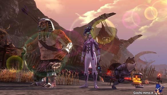 Personaggi Titan Siege