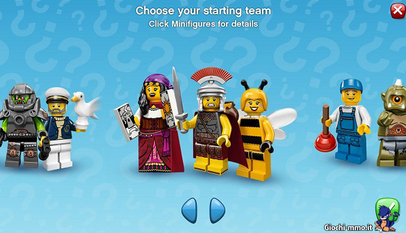 Personaggi minifigure Lego Minifigures Online