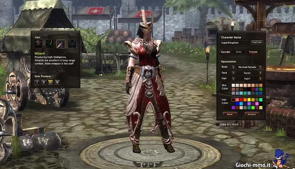 Personaggio Kingdom Online