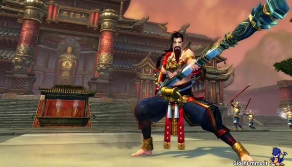 Personaggio combattente in Swordsman Online