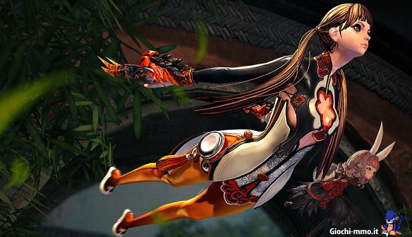 Personaggio volante Blade and Soul