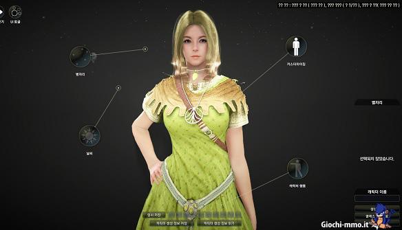 Personalizzazione personaggio Black Desert Online
