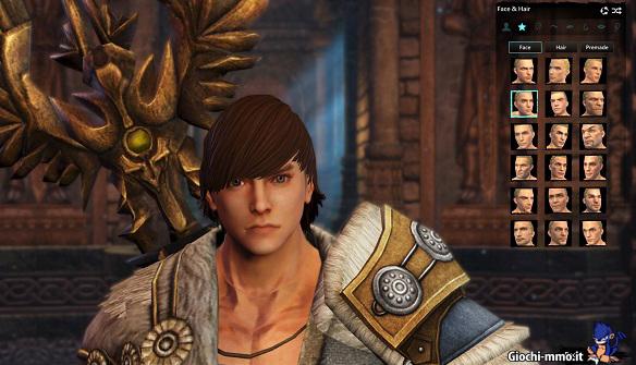 Personalizzazione personaggio dragons prophet