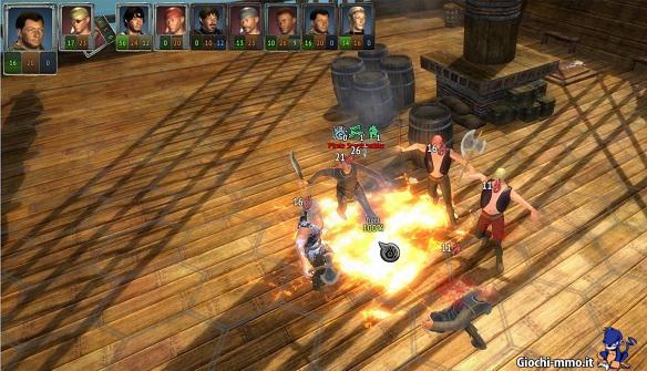 Pirati Dungeons of Aledorn