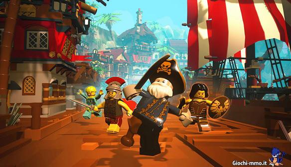 Pirati Lego Minifigures Online